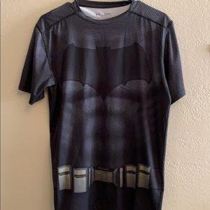 Under Armour heat gear Batman compression shirt